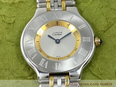CARTIER LIGNE 21 GILT STEEL QUARTZ KAL. 90.06 [140002]