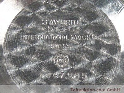 IWC STEEL AUTOMATIC KAL. 8521 [140008]