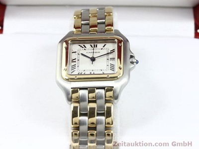 CARTIER PANTHERE STEEL / GOLD QUARTZ KAL. 83 [140013]