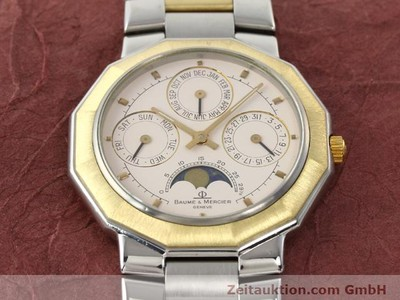 BAUME & MERCIER RIVIERA STEEL / GOLD QUARTZ [140018]
