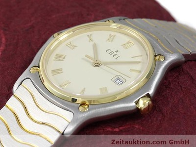 EBEL CLASSIC WAVE ACIER / OR QUARTZ KAL. 83 [140030]