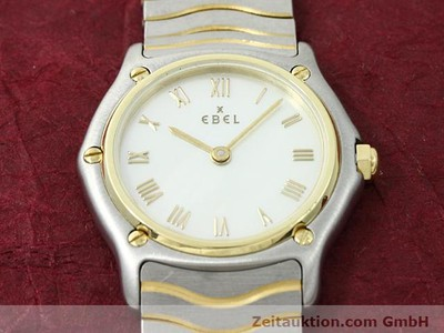 EBEL CLASSIC WAVE STEEL / GOLD QUARTZ KAL. 690 [140048]