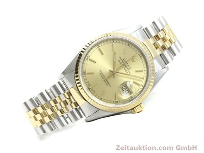 ROLEX DATEJUST STEEL / GOLD AUTOMATIC KAL. 3135 [140052]