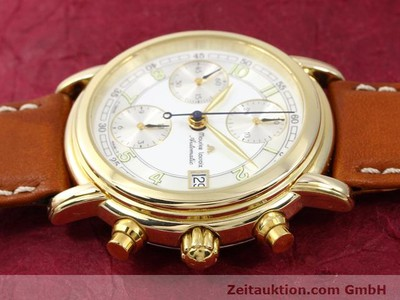 MAURICE LACROIX CRONEO GOLD-PLATED AUTOMATIC KAL. ETA 7750 [140072]