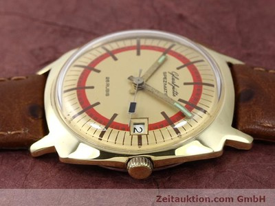 GLASHÜTTE SPEZIMATIC GOLD-PLATED AUTOMATIC KAL. 75 [140075]