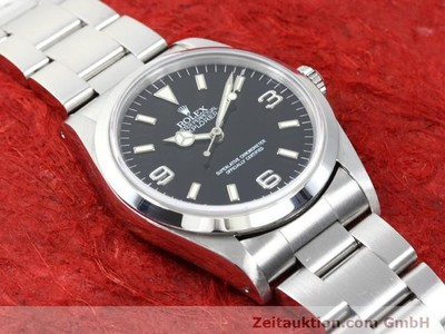 ROLEX EXPLORER STEEL AUTOMATIC KAL. 3000 [140097]