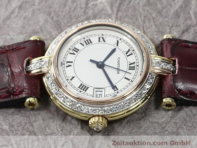 Cartier Vendome 18k Gold Quarz Kal. 83 [140104]