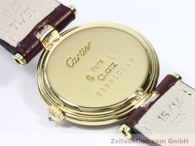 CARTIER VENDOME 18 CT GOLD QUARTZ KAL. 83 [140104]