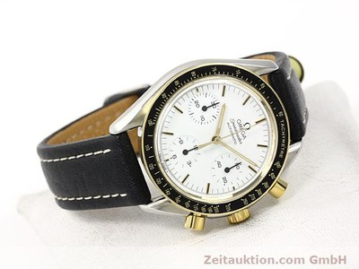 OMEGA SPEEDMASTER GILT STEEL AUTOMATIC KAL. 1140 [140114]