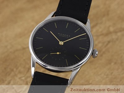 NOMOS ORION STEEL MANUAL WINDING KAL. ETA 7001 [140122]