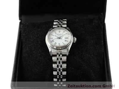 ROLEX LADY DATE ACIER / OR AUTOMATIQUE KAL. 2135 [140136]