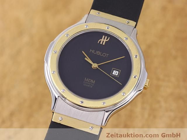 HUBLOT MDM GILT STEEL QUARTZ KAL. ETA 956111 [140139]
