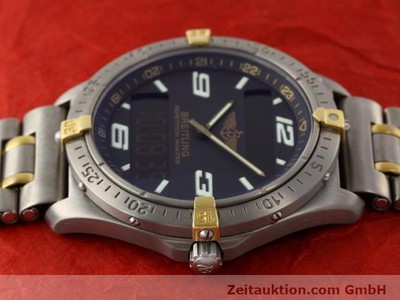 BREITLING AEROSPACE TITANE / OR QUARTZ [140142]