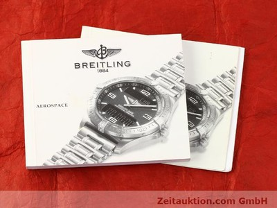 Breitling Aerospace Titan / Gold Quarz [140142]