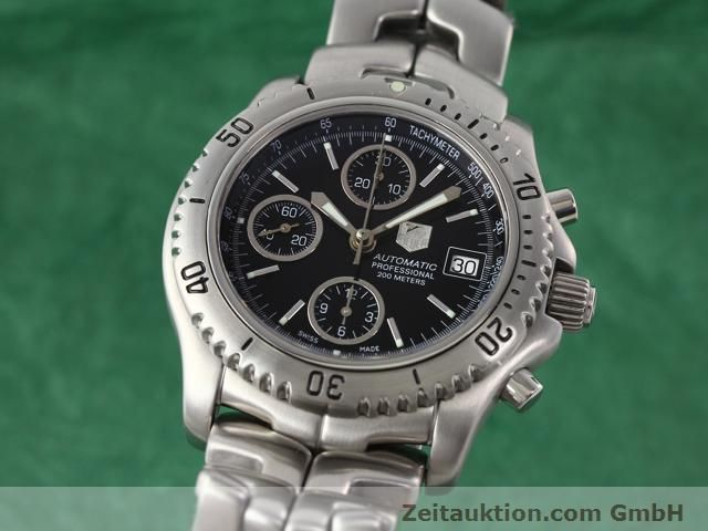 TAG HEUER PROFESSIONAL STEEL AUTOMATIC  [140145]