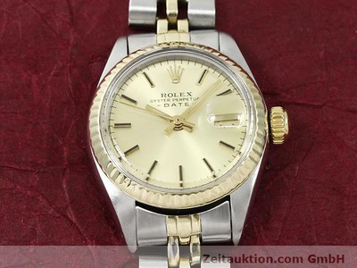 ROLEX LADY DATE STEEL / GOLD AUTOMATIC KAL. 2030 [140168]