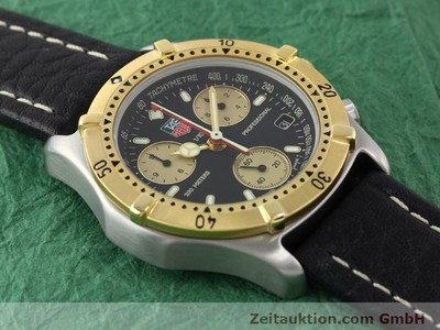 TAG HEUER PROFESSIONAL CHRONOGRAPH HERRENUHR GOLD / STAHL [140171]