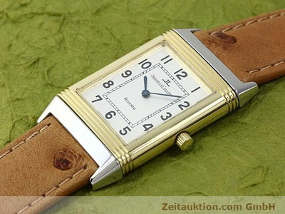 JAEGER LE COULTRE REVERSO STEEL / GOLD MANUAL WINDING KAL. 846 [140177]