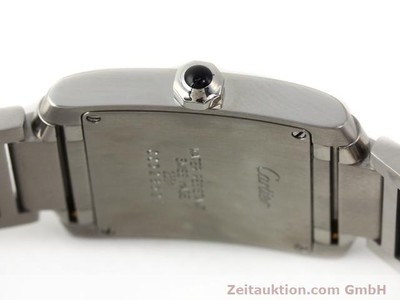 CARTIER TANK STEEL QUARTZ KAL. 157.06 [140179]