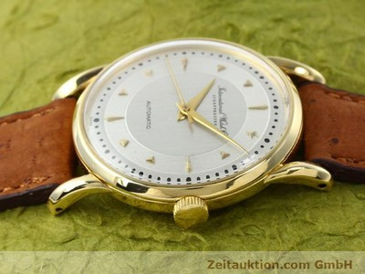 IWC 18 CT GOLD AUTOMATIC KAL. C.85 [140181]