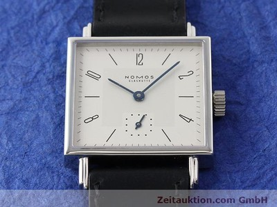 NOMOS TETRA STEEL MANUAL WINDING KAL. 46816 [140195]