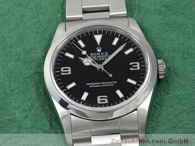 ROLEX EXPLORER STEEL AUTOMATIC KAL. 3000 [140198]