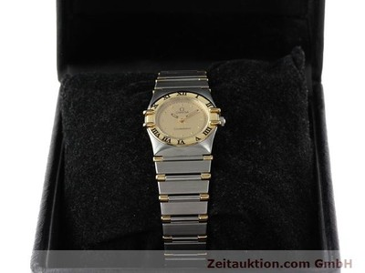 OMEGA CONSTELLATION STEEL / GOLD QUARTZ KAL. 1455 ETA 976001 [140203]