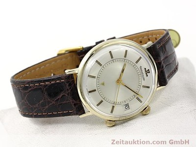 JAEGER LE COULTRE MEMOVOX GOLD-PLATED MANUAL WINDING KAL. K911 [140204]