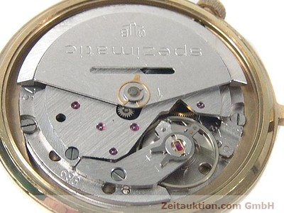 GLASHÜTTE SPEZIMATIC GOLD-PLATED AUTOMATIC KAL. 75 [140211]