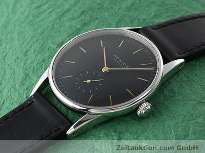 NOMOS ORION STEEL MANUAL WINDING KAL. ETA 7001 [140221]