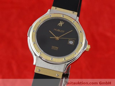 HUBLOT MDM GILT STEEL QUARTZ KAL. ETA 956.112 [140226]