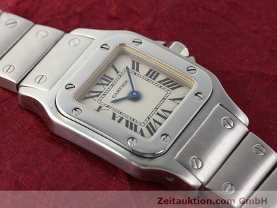 CARTIER SANTOS STEEL QUARTZ [140239]