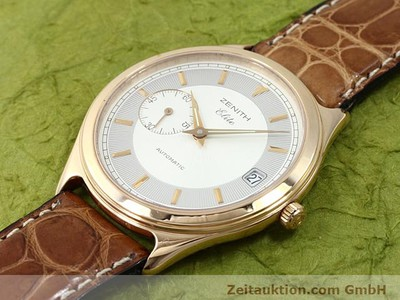 ZENITH ELITE OR ROUGE 18 CT AUTOMATIQUE KAL. 680 [140257]