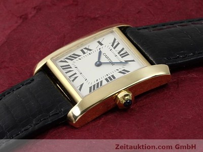 CARTIER TANK OR 18 CT QUARTZ KAL. 157.06 [140268]