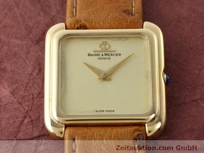 BAUME & MERCIER 18 CT GOLD MANUAL WINDING KAL. BM 777 [140278]
