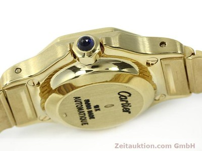 CARTIER SANTOS 18 CT GOLD AUTOMATIC KAL. ETA 2671 [140281]