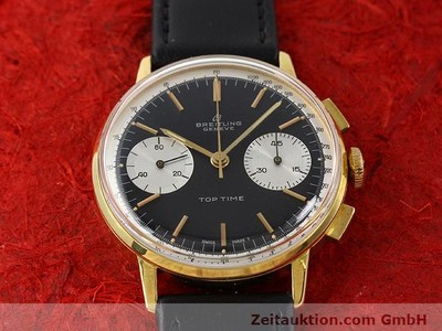 BREITLING TOP TIME GOLD-PLATED MANUAL WINDING KAL. VENUS 188 [140284]