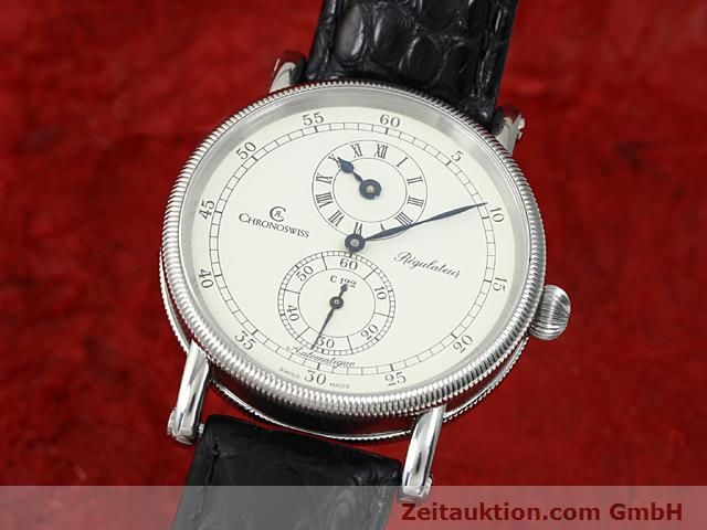CHRONOSWISS REGULATEUR STEEL AUTOMATIC KAL. C122  [140286]