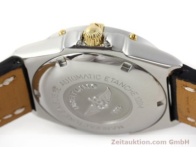 BREITLING WINGS GILT STEEL AUTOMATIC KAL. ETA 2892A2 [140293]