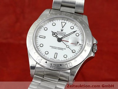 ROLEX EXPLORER STEEL AUTOMATIC KAL. 3185 [140296]