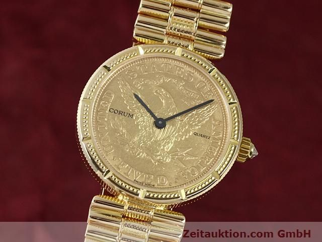 CORUM 18 CT GOLD QUARTZ KAL. ETA 959001 [140298]
