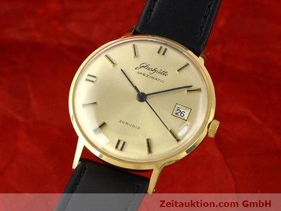 GLASHÜTTE SPEZIMATIC GOLD-PLATED AUTOMATIC KAL. 75 [140304]