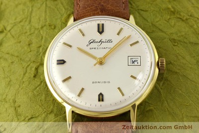 GLASHÜTTE SPEZIMATIC GOLD-PLATED AUTOMATIC KAL. 75 [140313]