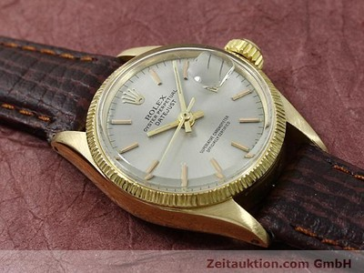 ROLEX LADY DATEJUST 18 CT GOLD AUTOMATIC KAL. 1161 [140314]