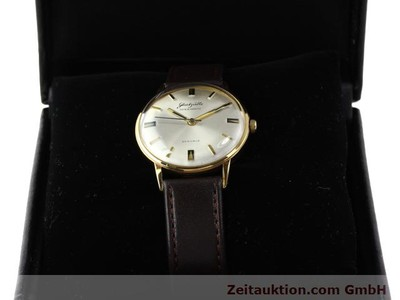 GLASHÜTTE SPEZIMATIC GOLD-PLATED AUTOMATIC KAL. 74 [140322]