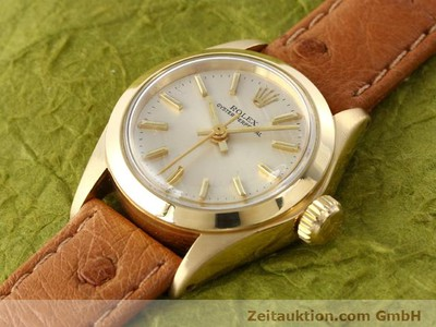 ROLEX OYSTER PERPETUAL OR 18 CT AUTOMATIQUE KAL. 2030 [140345]