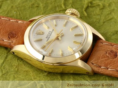 ROLEX OYSTER PERPETUAL 18 CT GOLD AUTOMATIC KAL. 2030 [140345]