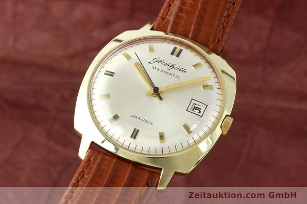 GLASHÜTTE SPEZIMATIC GOLD-PLATED AUTOMATIC KAL. 75  [140352]