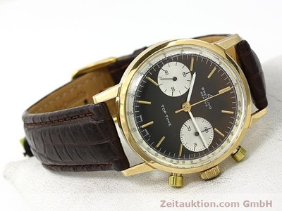 BREITLING TOP TIME OR 18 CT REMONTAGE MANUEL KAL. VALJ 7730 [140372]