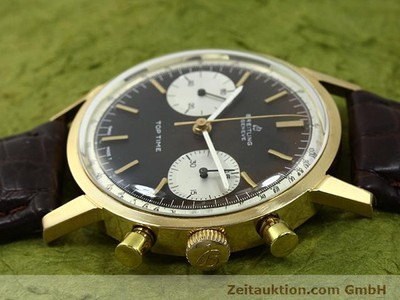 BREITLING TOP TIME 18 CT GOLD MANUAL WINDING KAL. VALJ 7730 [140372]